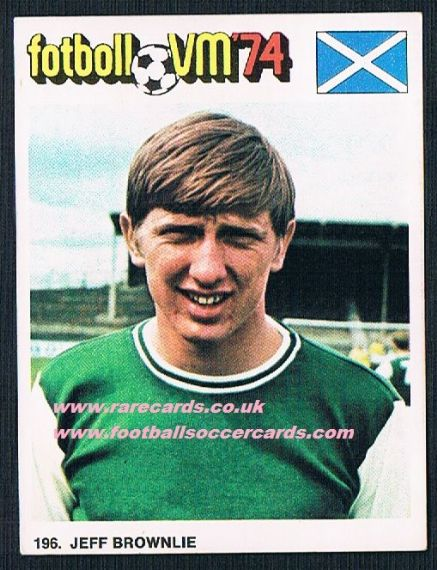 1974 Williams Brownlie HIBS SWEDISH